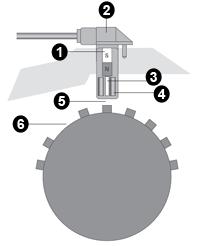 Схема индуктивного датчика ABS компании TRW