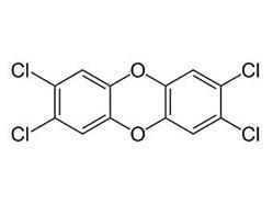 Структурная формула диоксина