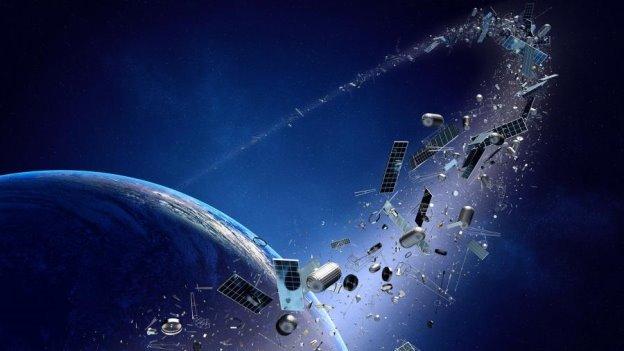 Космический мусор: вокруг Земли летают тысячи опасных объектов ...