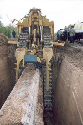 Подготовка кпереизоляции магистрального газопровода