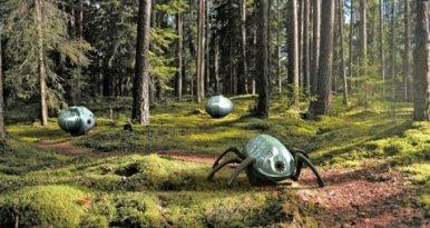 Дежурные роботы-мокрицы подождут пожар в лесу