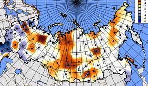 Карта трендов среднего давления за зимний период.jpg