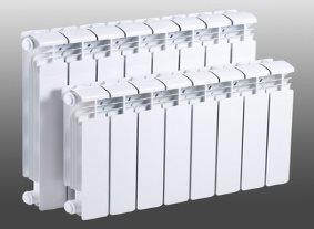 Секционный алюминиевый радиатор Рифар Rifar Alum 500/10 секций \
