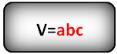Формула объема параллелепипеда