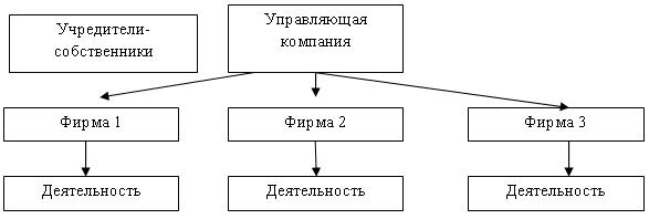 Холдинг схема управления