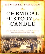 Book cover - The chemical history of a candle