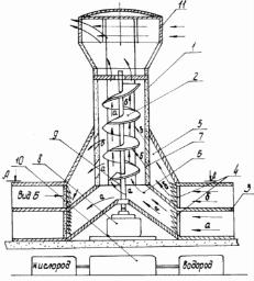 ветросиловая установка, общий вид