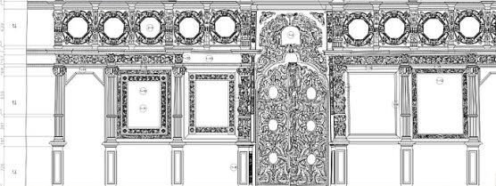 «НГКИ»: Лазерное сканирование и создание чертежей иконостаса Святой Троицы