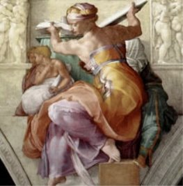 Микеланджело Ливийская сивилла