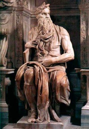 Микеланджело. Моисей