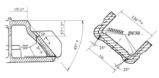 Опорная поверхность надрессорной балки