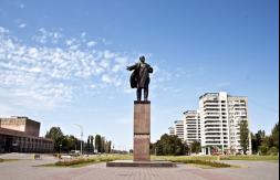 Описание: Памятник В.И. Ленину в Волжском