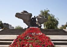 Описание: Памятник афганцам в Волжском