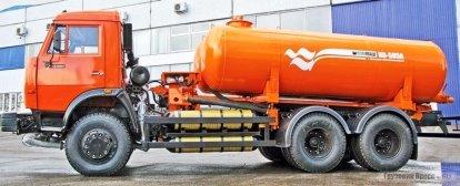 Вакуумная машина КО-505А на метане производства арзамасского ОАО «КОММАШ»