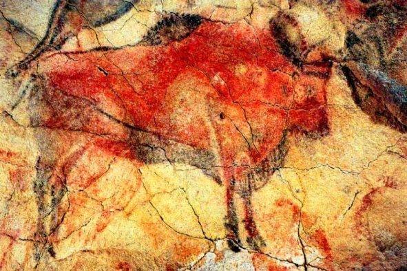 Картинки по запросу наскальные рисунки на стенах пещеры альтамира