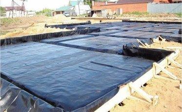 Картинки по запросу Плитный фундамент гидроизоляция