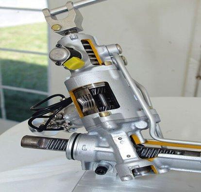 Рулевой механизм активного рулевого управления