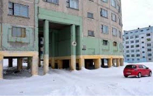 Норильск. Загадочные дома