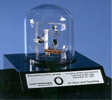 Изобретение транзистора — Википедия