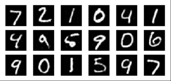 Фрагмент набора данных MNIST