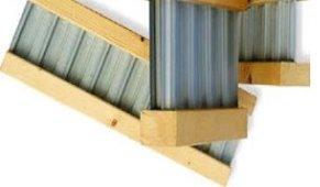 Двутавровая деревянно-металлическая балка HTS