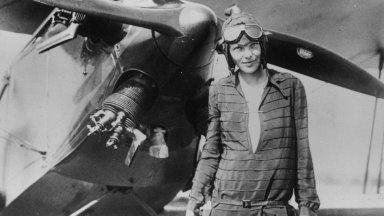 Амелия Мэри Эрхарт (1897–1937 гг.) — пионер авиации, первая летчица, перелетевшая Атлантический океан. Источник: bbc.com