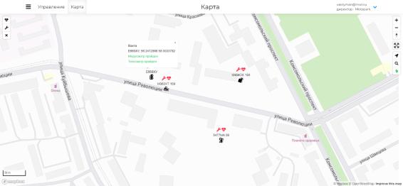Интерактивная карта (г. Пермь). [1]