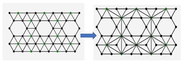 Преобразование топологического примитива № 1 (результат работы программы)