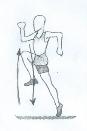 Бег с высоким подниманием бедра, подскоки, многоскоки