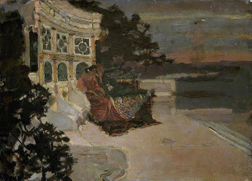 """М. А. Врубель. """"Сумерки"""" (1891)"""
