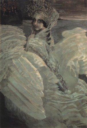 "М. А. Врубель. ""Царевна-Лебедь"" (1900, 1901)»"