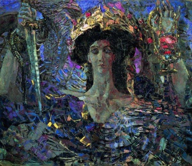 "М. А. Врубель. ""Азраил"" (1904)"