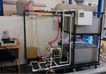 Общий вид экспериментального стенда