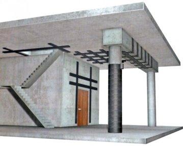 Усиление конструкции композитными материалами