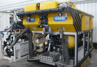 Многофункциональная машина для ремонта глубоководных нефтепроводов ROV
