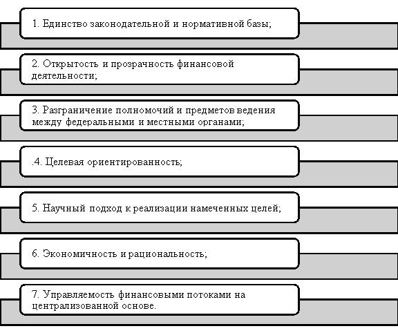 Принципы муниципальных финансов по С. Б. Дремову [4]