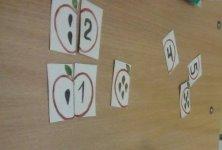 Дидактическая игра «Яблочки»