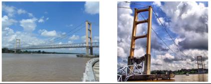 Разрушение моста Кутай Картанегара, 26 ноября 2011 год [3]