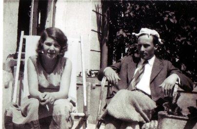 Ежи Лютославский со своей супругой (Дроздово, 1931)