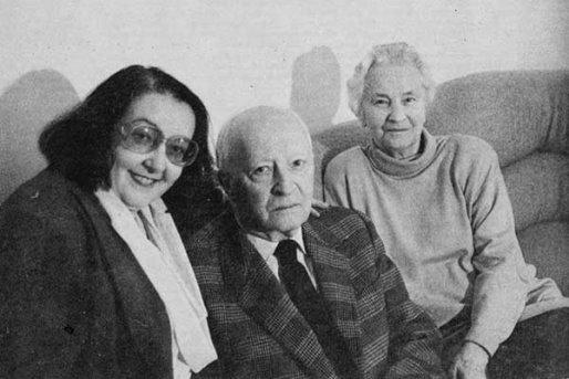 Ирина Никольская, Витольд Лютославский и его жена Данута