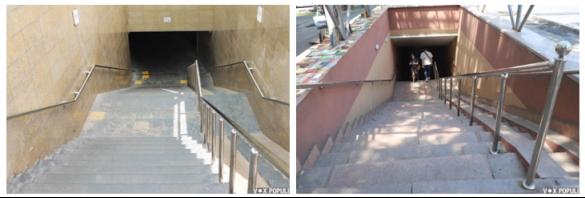 Подземные переходы в городе Алматы
