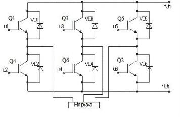 Инвертор с IGBT транзисторами