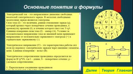 Теоретический материал по теме «Основные понятия»