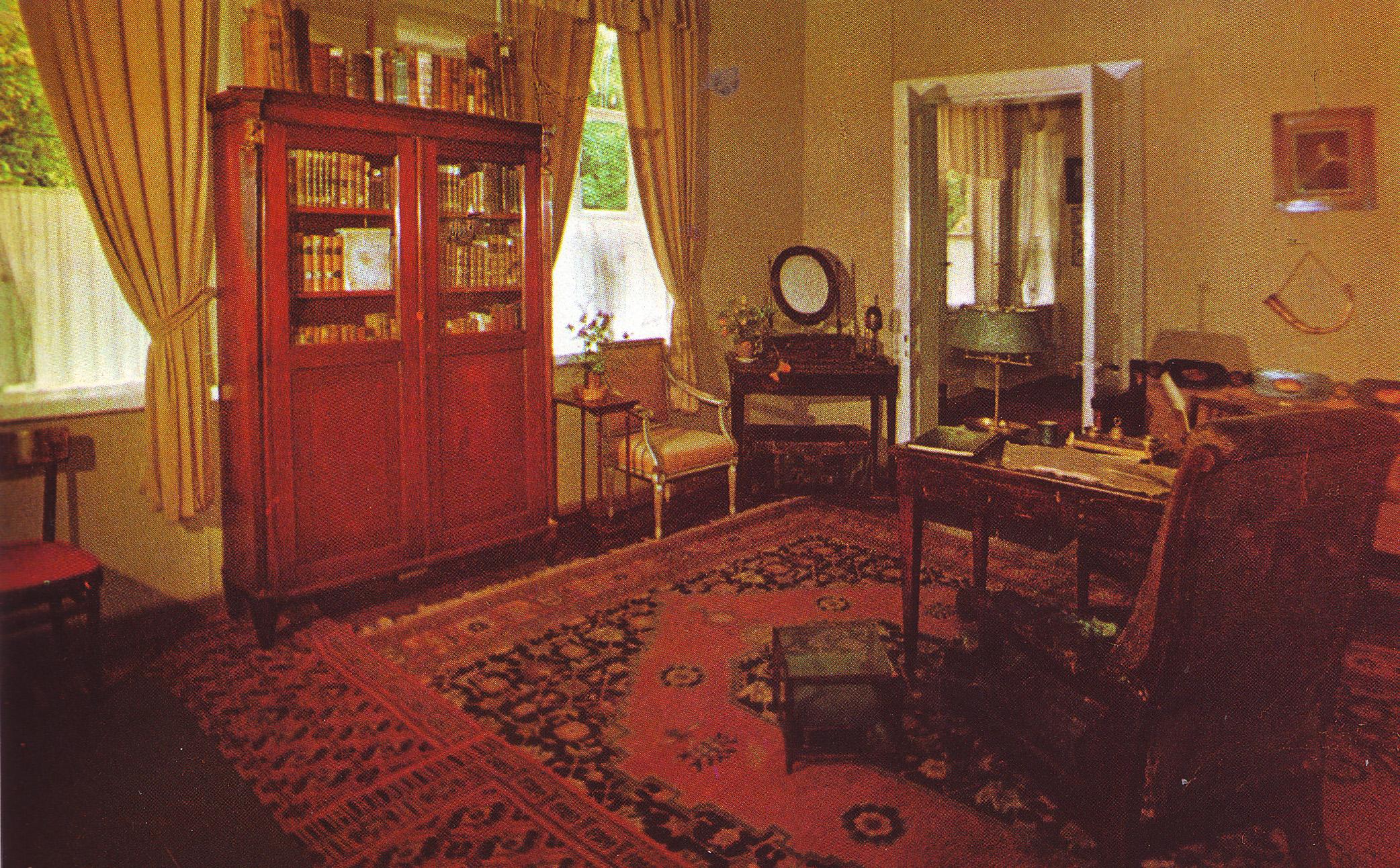 Кабинет пушкина картинки
