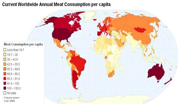 Описание: Annual meat consumption per capita, 2009.JPG