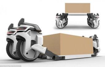 Концепт дрона для перевозки грузов