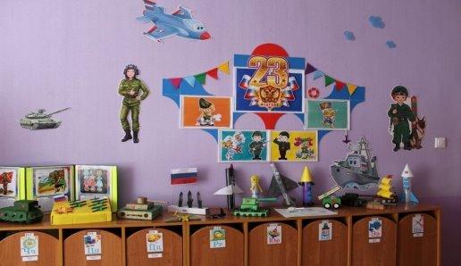 Выставка поделок и рисунков «Мы-будущие защитники Родины»