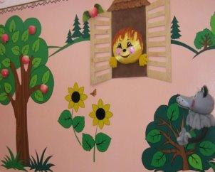 Зоны детского сада и группы