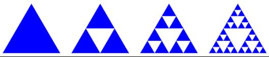 Построение треугольника Серпинского