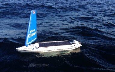 Гаджет отправился в плавание с канадского острова Ньюфаундленд и пробыл в пути 2,5 месяца